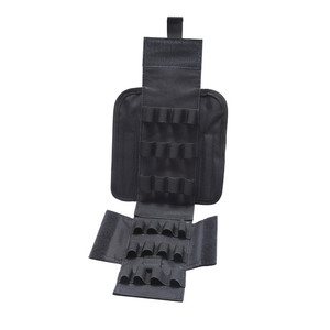 Image 5 - 2019 new Hunting Accessories Tactical Ammo Bags MOLLE 25 Rounds 12 Gauge Ammo Shells AIRSOFT Reload Magazine Pouches