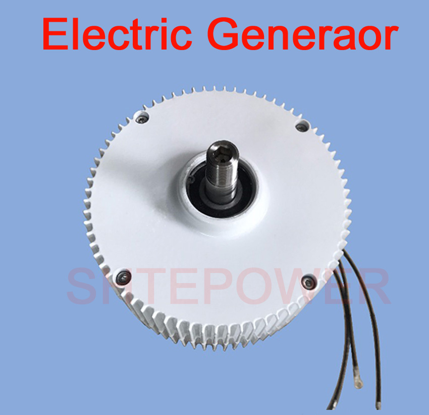 Permanent Magnet Generator AC Alternator with holder for Wind Turbine Generator for use in all environments 300W 400W usa stock 880w hybrid kit 400w wind turbine generator