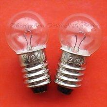 Новинка! Миниатюрная лампа 6v 2,4 w E10 G14 A657