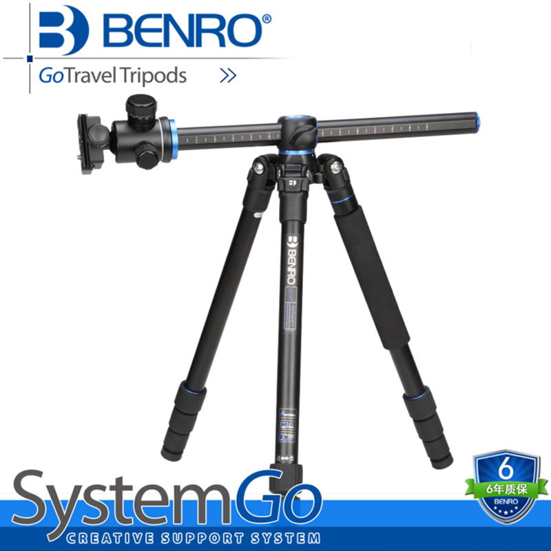 Benro tripod travel portable SLR digital camera GA168TB1 professional aluminum tripod head benro a38td foot aluminum alloy slr camera videotape alone racks one horned portable triangle frame free shipping