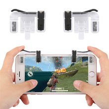 A9 Mobile Phone Shooting Game Fire Button Aim Key Buttons L1 R1 Cell Phone Game Shooter Controller for Android IOS Joystick(China)