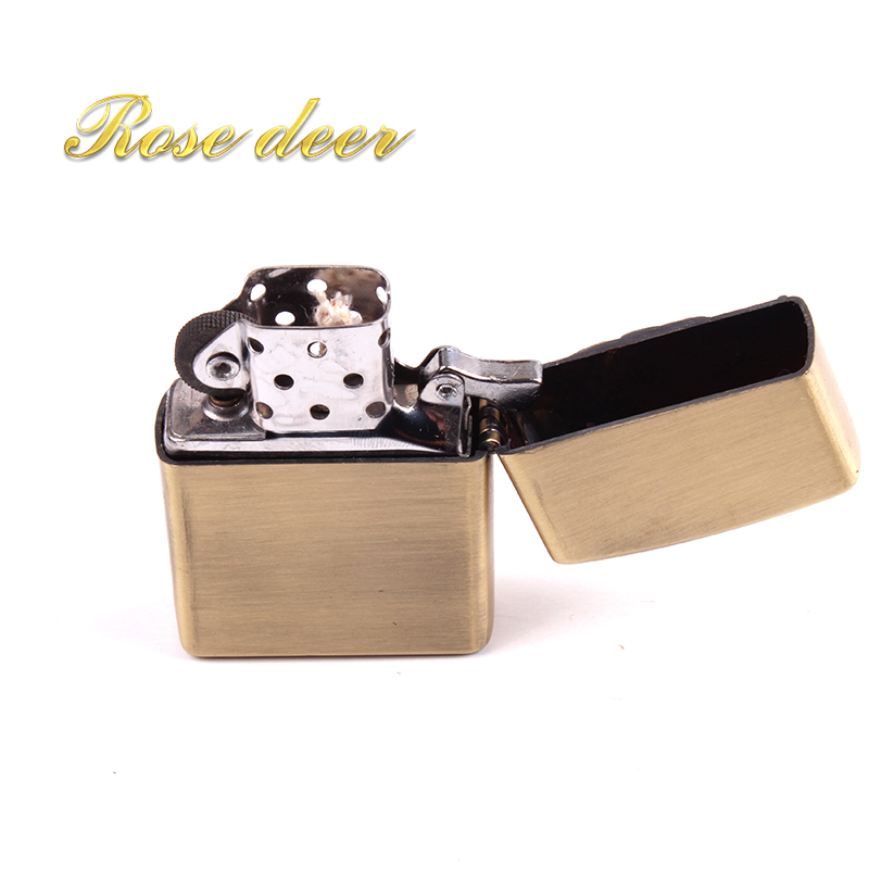 Metal attached present hell detective Wheelbarrow kerosene lighter Windproof Smoking kon ...
