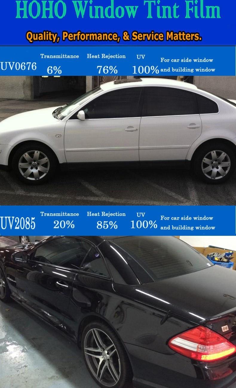 "50/% NANO CERAMIC TINT  Residential\Automotive\Commercial Window Film 20/""X10/'"