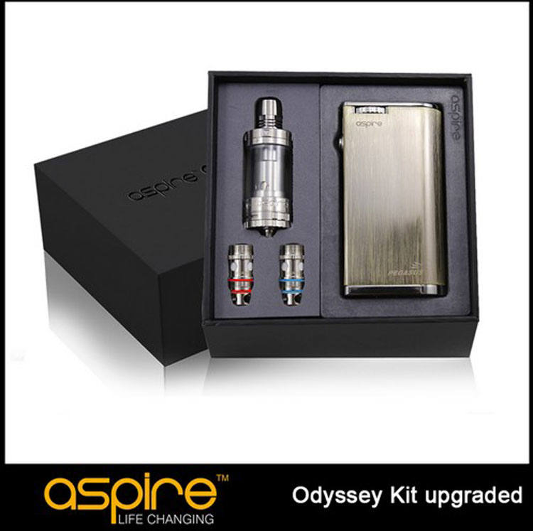 100% Original Upgraded Edition Aspire Odyssey Kit Vape Starter Kit With Aspire Pegasus Mod 75W and Triton 2 Tank original lost vape therion dna75 75w tc box mod