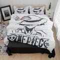 Набор постельного белья  шлифовальный мультяшный анимационный набор  один предмет  Наруто  тупой собачий фильм  2 шт./3 шт.  британский стиль  ...
