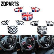 Zaparts 1 компл. стайлинга автомобилей Панель руль декоративные стикеры фильм крышки для Bmw Mini Cooper R56 R50 R53 F56 F55 R60 R57 R61