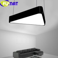 FUMAT LED Modern Pendant Ceiling Lamps Acrylic Creative DIY Chandelier Lighting Triangle Decoration Office Gym Indoor Hanglamp