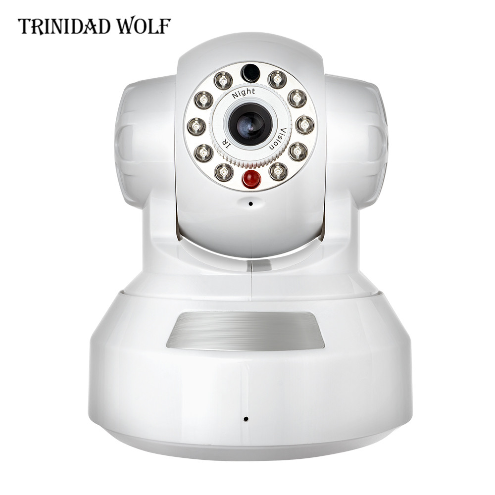 TRINIDAD WOLF Wireless Cloud IP Camera 2 Way Audio P2P Remote View IP Cam 720P Wifi Cloud Storage Surveillance Cameras kerui 1080p cloud storage wifi ip camera surveillance camera 2 way audio activity alert smart webcam
