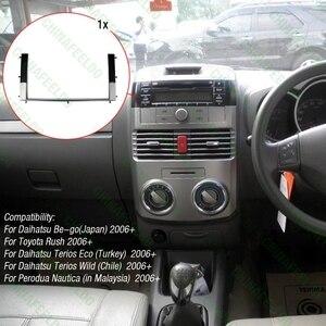Image 5 - רכב 2DIN Refitting רדיו סטריאו DVD מסגרת Fascia פנל דאש התקנה ערכות עבור טויוטה Rush/דייהטסו להיות ללכת terios 2006 # AM1630