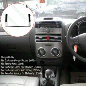 Image 5 - Автомагнитола 2DIN для TOYOTA Rush/DAIHATSU Be Go Terios 2006 # AM1630