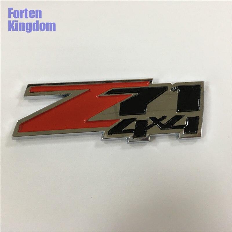 Forten Kingdom 1 шт. автомобильный Z71 4x4 АБС-пластик эмблема багажник капот значок Авто Наклейка