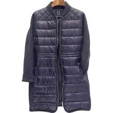 Femmes de Nouveau D'hiver Zip Up Matelassé Blouson Manteau Femme Manches Longues Casual Classique Léger Compressible Outwear