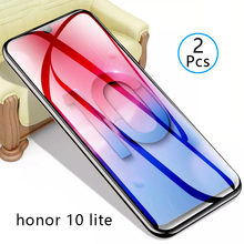 2pcs Tempered Glass On Honor 10 Lite Protective Glass Screen Protector Phone Safety Tremp For Huawei Honer Hono 10lite 10 Light(China)