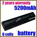 Jigu 484170-001 nueva batería del ordenador portátil para hp pavilion dv4 dv5 dv6 batería hstnn-ib72 hstnn-lb72 hstnn-lb73 hstnn envío gratis