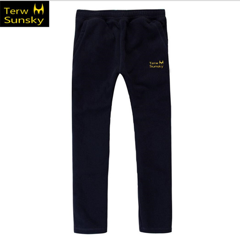 Free Shipping-NEW HOT SALE Terwsunsky Outdoor Winter/Autumn Men Thickening Fleece Pants Sports Trousers TK01
