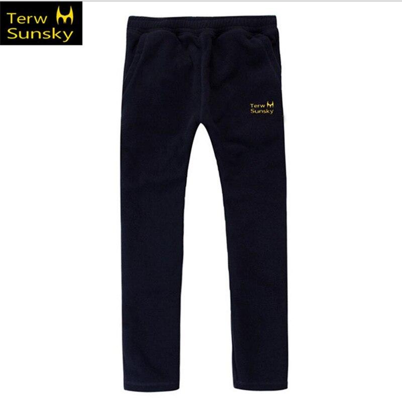 Free Shipping-NEW HOT SALE Terwsunsky Outdoor Winter/Autumn Men Thickening Fleece Pants Sports Trousers TK01
