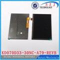 Nuevo 7 '' pulgadas LCD para KD070D33-30NC-A79-REVB LCD Display KD070D33 1024 x 600 30 Pin envío gratis pantalla