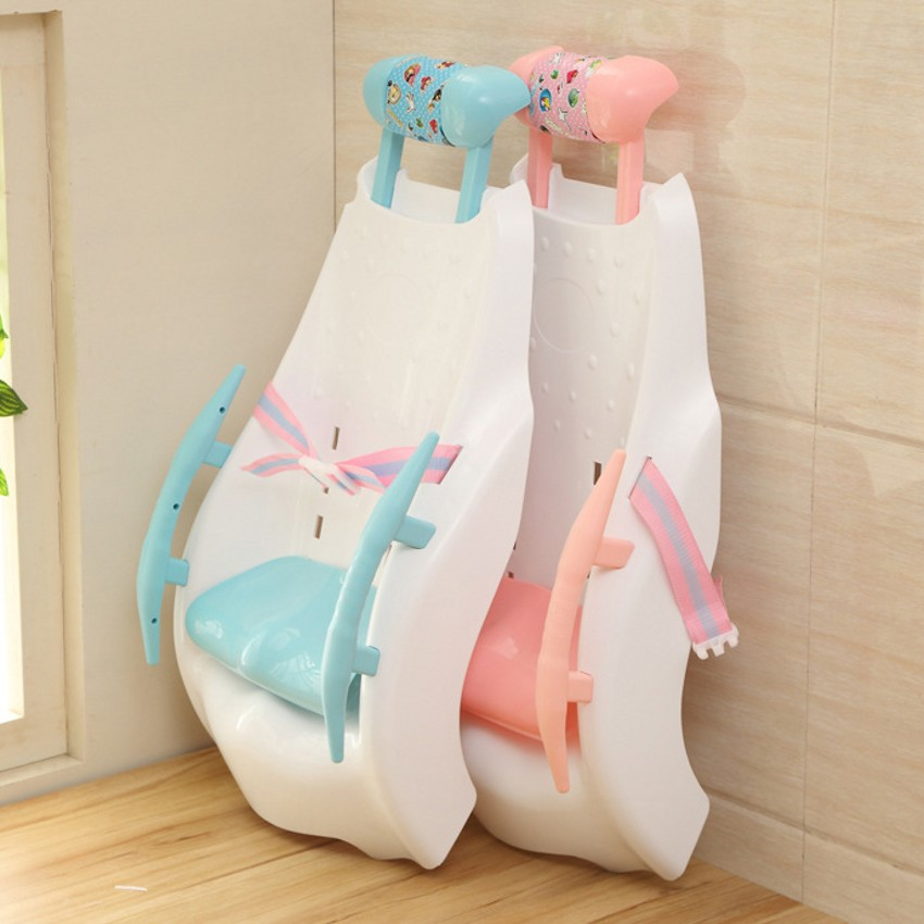 New Style Thicken Shampoo Chair Lengthen Baby Lying Bed For Baby Bath Baby Tubs