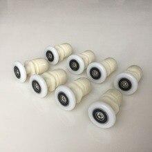 nylon pulleys Sliding door roller Shower room eccentric wheels Door roller series pulley цена