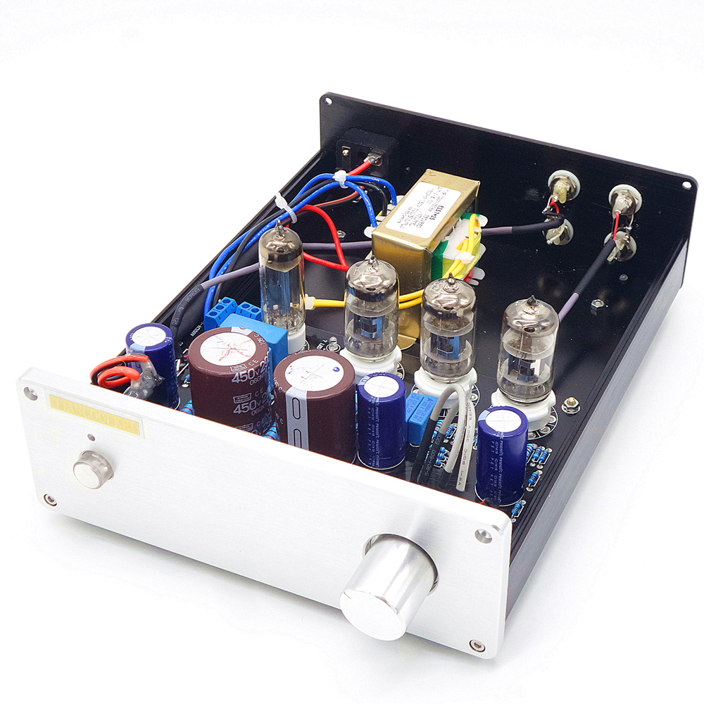 TIANCOOLKEI Marantz 7 audio stereo vacuum tube preamplifier use 6Z4 and 6N4 tube preamplifier 1pcs high quality 6n3 6z4 tube valve pre amp class a audio stereo preamplifier include transformer g2 007