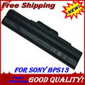Bateria do portátil para Sony VGP-BPS13B / B VGP-BPS13B / Q VGP-BPS21 VGP-BPS21A VGP-BPS21B VGN-FW510F VGN-FW520F VGN-FW548F VGN-FW550F