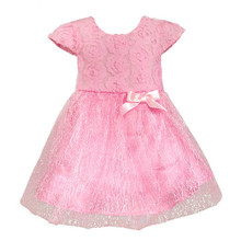 Retail - 2017 Summer bow birthday party Baby clothes, ball gown childr