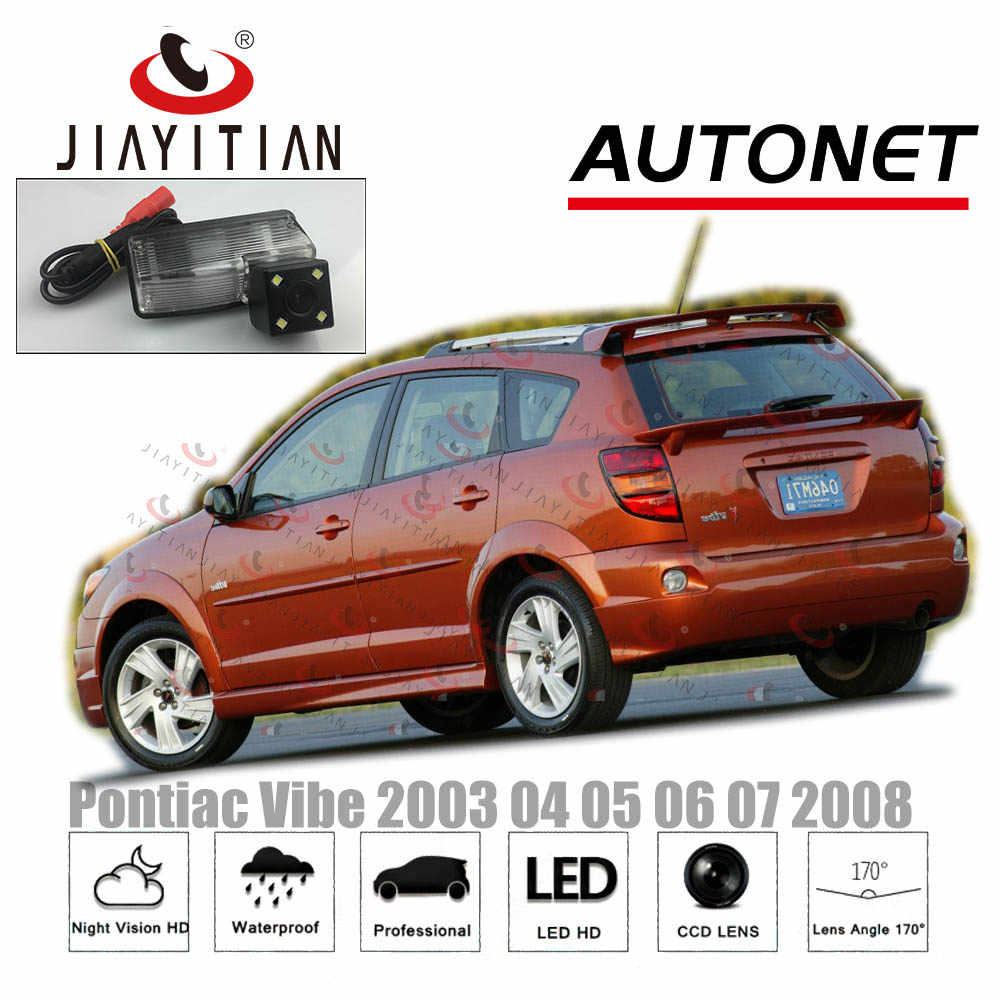 Detail Feedback Questions About Jiayitian Rear View Camera For Pontiac Vibe 2003 2004 2005 2006 2007 2008 Ccd Night Vision Backup License Plate
