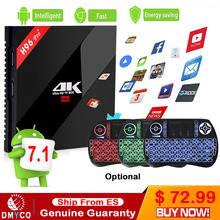 Original H96 Pro Plus android 7.1 OS smart tv box Amlogic S912 Octa Core 3G/32G dual wifi BT4.1 4K H96pro+ X96 Media Players