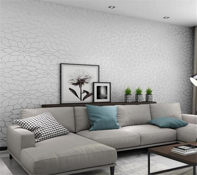 Wand papier wohnkultur 3D Wildleder floral tapete hohe grade ...