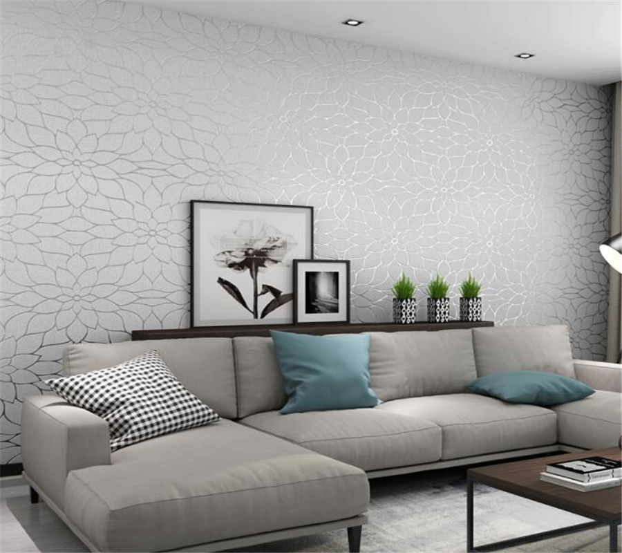 wall paper home decor 3D Suede floral wallpaper high - grade bedroom living room background wall modern 3d wallpaper Beibehang beibehang european luxury wall paper background wallpaper 3d 3d living room air warm bedroom wallpaper