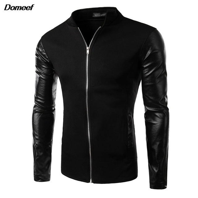 Online Shop Domeef Cool College Baseball Jacket Men 2017 Fashion ...