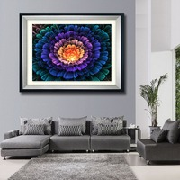 New Arrivals Polar Lights Pattern Full Diamond Painting European Simple Style Living Room Decorative Diamond Abstract