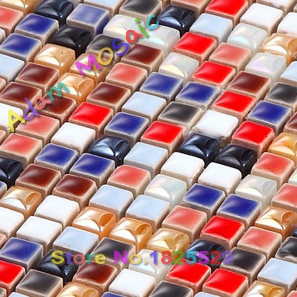 Acquista all'ingrosso online iridescent piastrelle di ceramica da ...