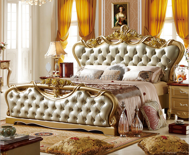 Aliexpress Com Buy French Style King Size Bed 0409 312