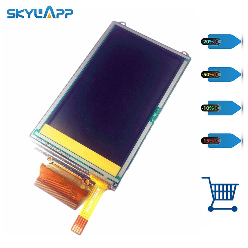 Skylarpu 3 inch For GARMIN OREGON 400 400i 400c 400t Handheld GPS LCD display screen + touch screen digitizer Free shipping