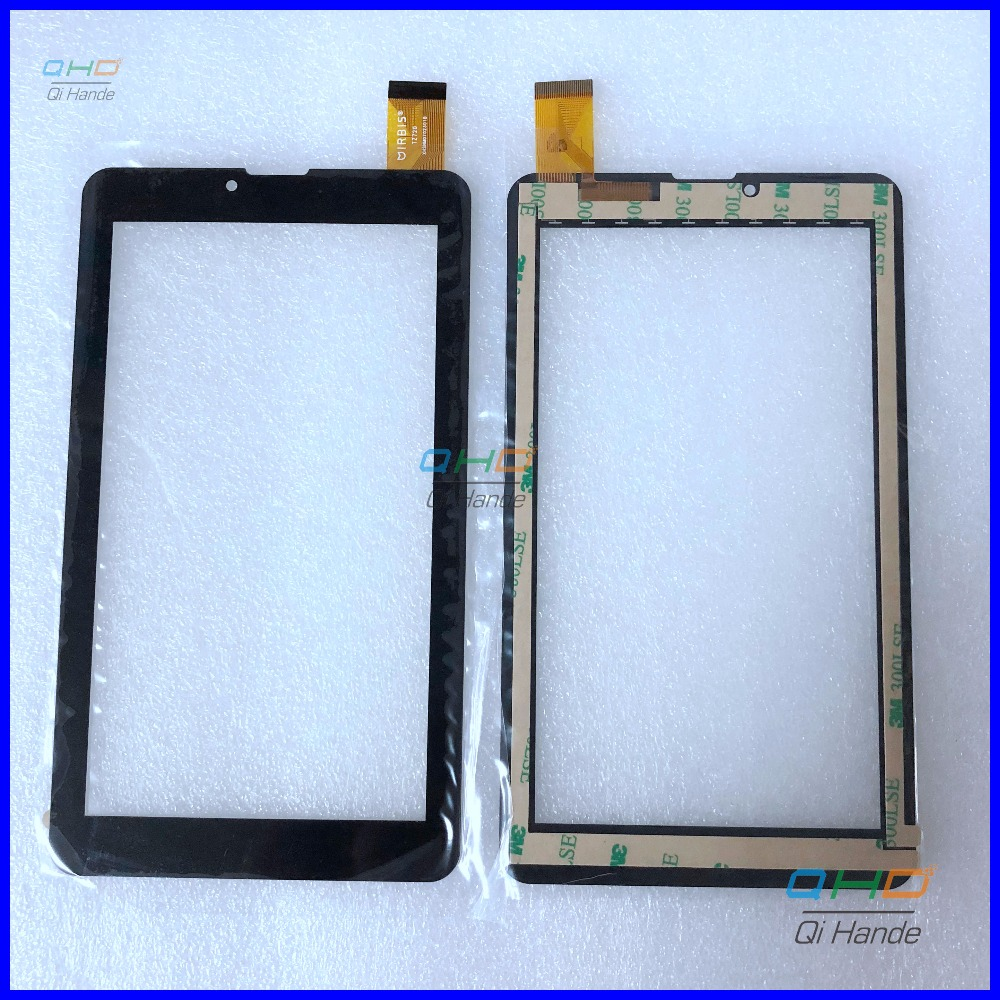 New Touch For 7 inch IRBIS TZ720 TZ721 capacitive touch screen tablet digitizer panel for Digma Plane 7546S 3G PS7158PG touch 10pcs lot new for 7 inch zyd070 262 fpc v02 touch screen tablet computer multi touch capacitive panel handwriting screen