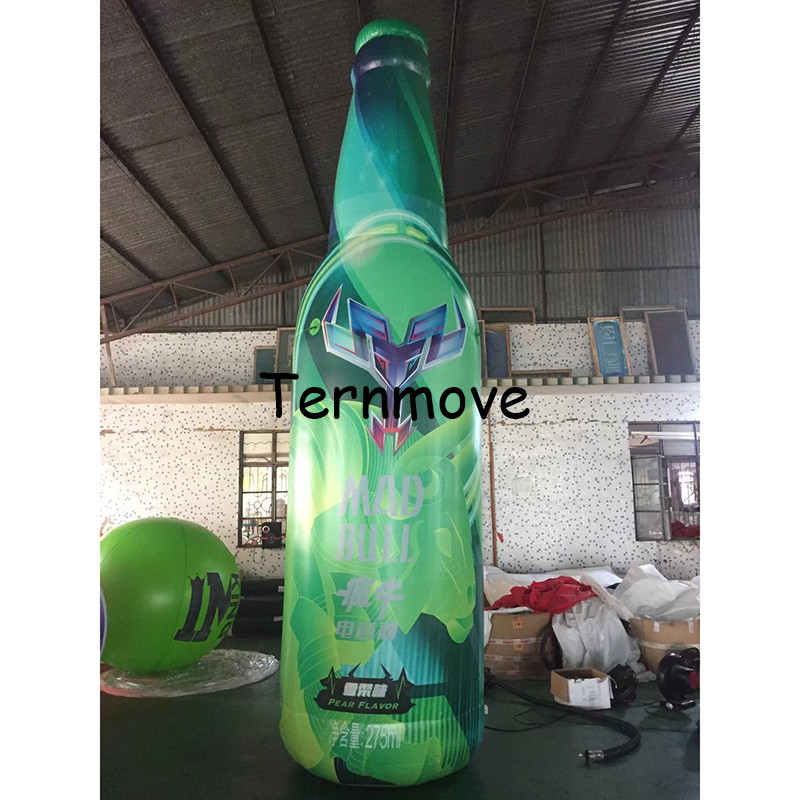 advertising beer tin bottle can customized replica advertising product inflatable Bottled coffee drink milk with logo ac028 factory price giant inflatable advertising new customized replica product