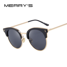 MERRY'S Women Classic Sunglasses Vintage Brand Designer Sunglasses Luxury Polarized Sun glasses S'8038
