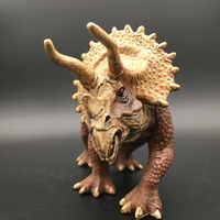 Triceratops Dinosaurier Modell Spielzeug 19x10x6 cm