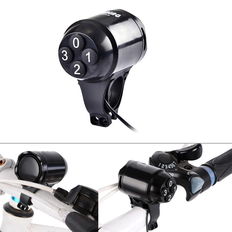 Waterproof Bicycle Bell Horns Electronic Bike Bicycle Handlebar Ring Bell Horn Strong Loud Air Alarm Bell Sound Bike Horn Safety