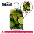 Clear Luggage Covers Fruit 3D print covers for suitcases Cute Orange suitcase rain cover spandex luggage protectors for Girls