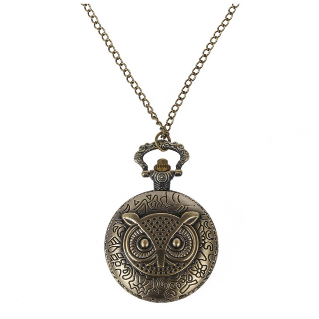 Owl women watch pocket watch quartz and chain necklace costume jewelry  sc 1 st  AliExpress.com & Owl women watch pocket watch quartz and chain necklace costume ...