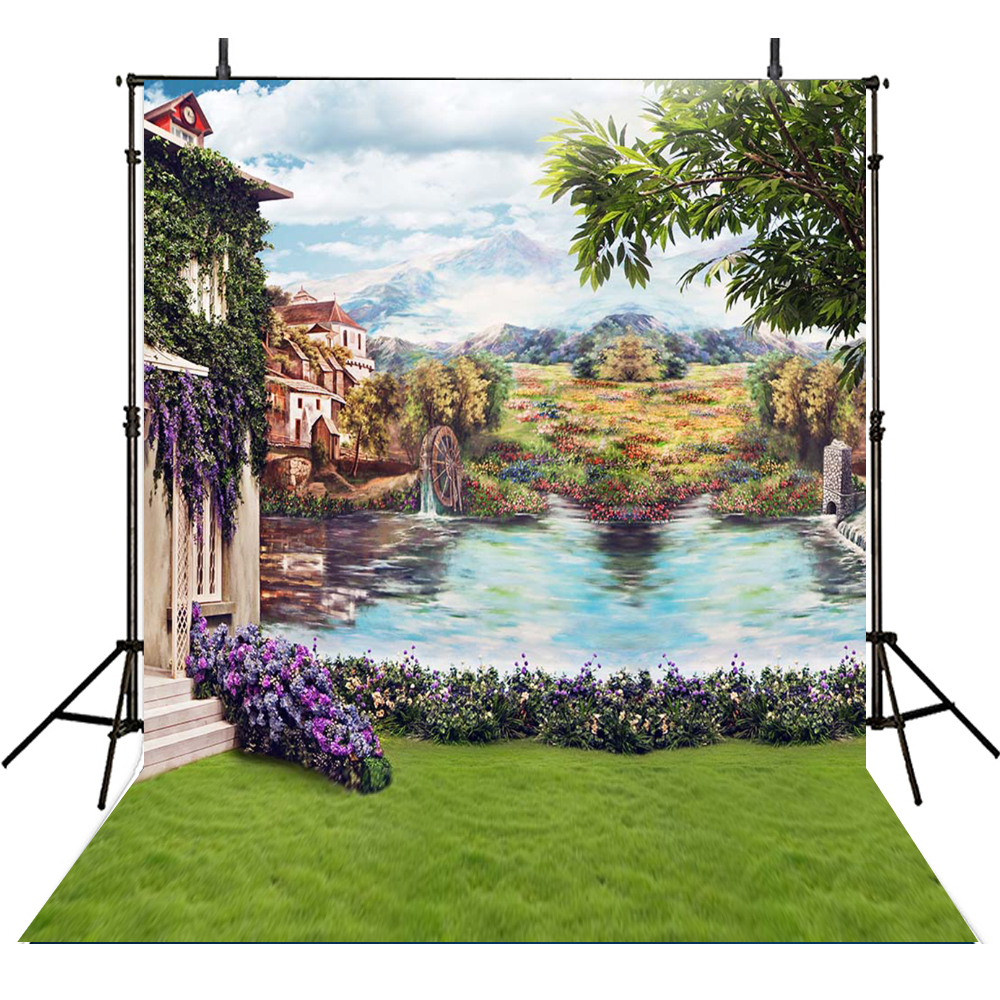 Alice In Wonderland Photography Backdrops Scenery Backdrop For Photography Background For Photo Studio Kids Foto Achtergrond alice a027fh