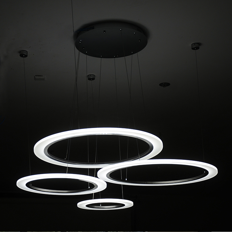 Wal AU Circular Pendant Lighting Modern Minimalist Living Room Dining Ideas Led Chandelier Lamp Office On Aliexpress