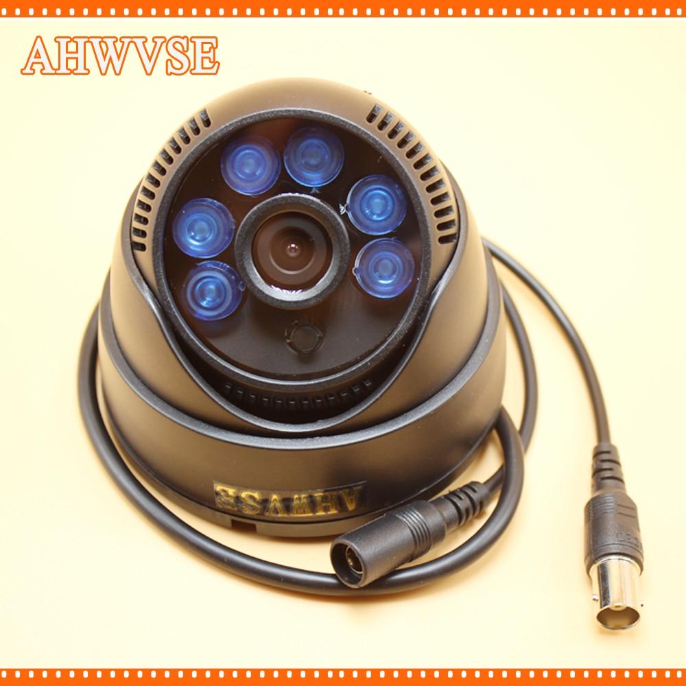 AHWVSE Mini  AHD Camera  720P 960P 1080P 1MP 1.3MP 2MP IR  Dome Camera Indoor CCTV CAM Wide Angle 3.6MM