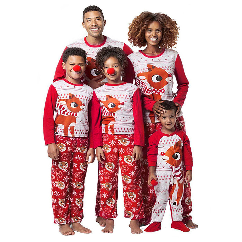 34ddf5efe40 Men -Reindeer-Tops-Blouse-Pants-Family-Pajamas-Sleepwear-T-shirt-Long-Pants-Christmas-Outfits-Set-Gift.jpg