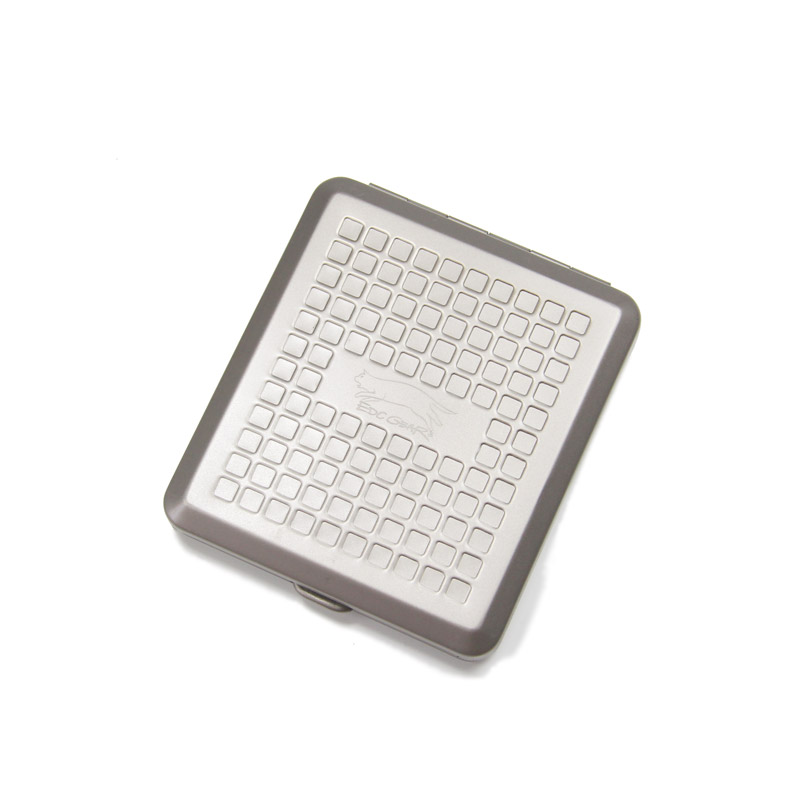 Titanium Utility Pocket Multifunctional Storage Box Cigarette Case Money Case Tool Box, W/lock, simple and useful