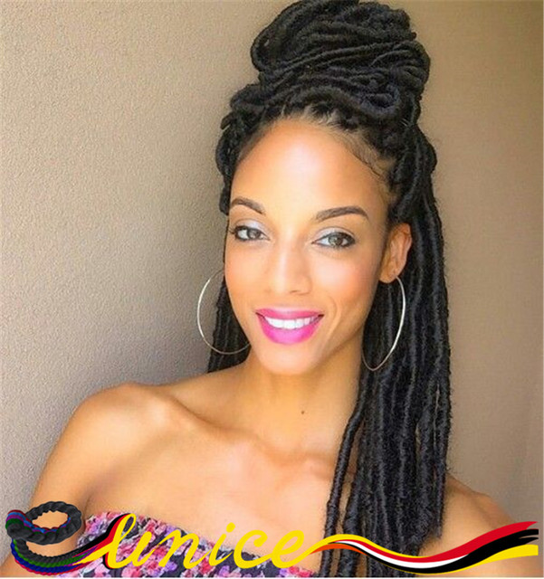 Crochet Braids Over Locs : Dreads Faux Locs Free Shipping Hot Sale Crochet Braiding Dreadlocks ...