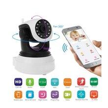 720 P wifi ip-камера беспроводная камера видеонаблюдения облачная камера для хранения звука датчик обнаружения движения Детский Монитор IR PTZ