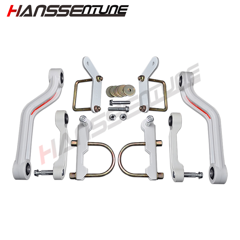 HANSSENTUNE 4x4 Steel Exterior Stabilizer Anti-Sway Bar Rear Balance Arm For Hilux REVO 2015+ lift kit for toyota hilux revo
